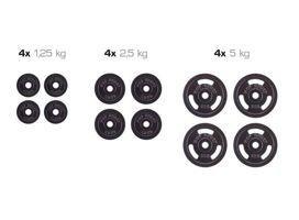 Zestaw obciążeń żeliwnych Hop Sport 35 kg