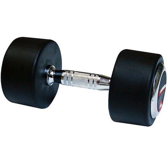 Hantla stała gumowana Insportline 35 kg