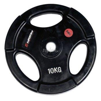 Obciążenie gumowane INSPORTLINE 10kg Ergo