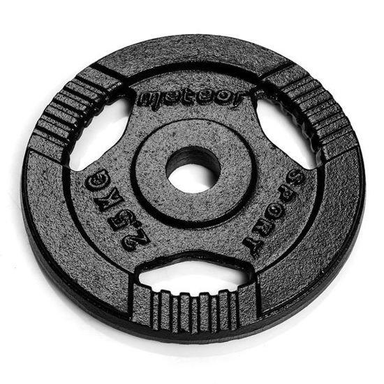 Obciążenie żeliwne Meteor czarne (28 mm) 2,5kg