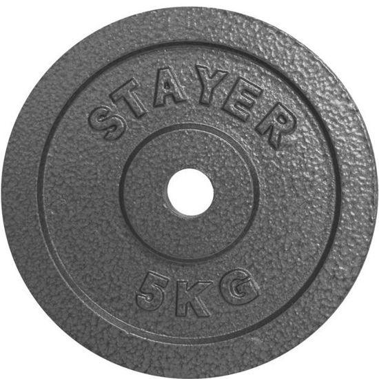 Obciążenie żeliwne Stayer Sport STH-6 hammertone 5kg