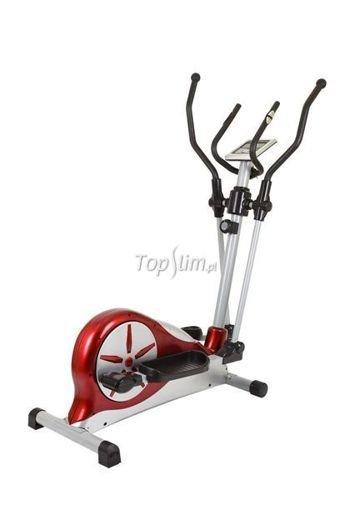 Orbitrek magnetyczny HS-40E Hop-Sport - czerwony