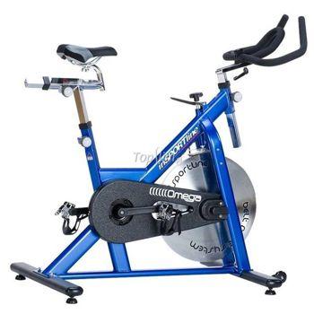 Rower stacjonarny spinningowy Omega Blue Insportline