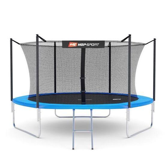 Trampolina ogrodowa 10ft (305 cm) z siatką wewnętrzną Hop-Sport - 3 nogi